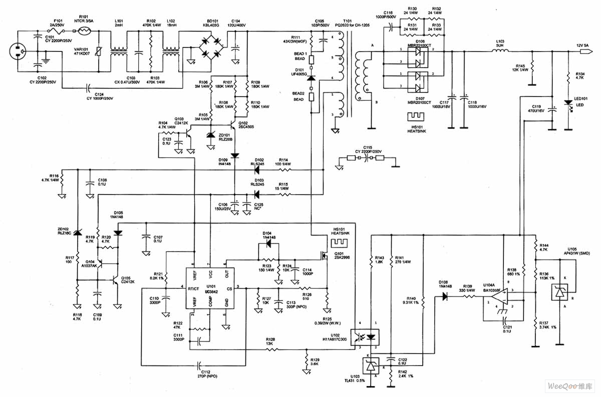 Typical Power Supply Adapter Circuit Diagram Threetonegenerator Signalprocessing Seekic