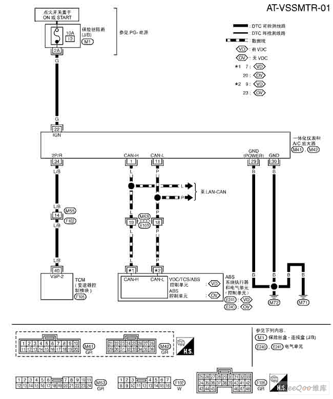 the nissan new teana speed sensor mtr circuit 555 circuit circuit diagram seekic