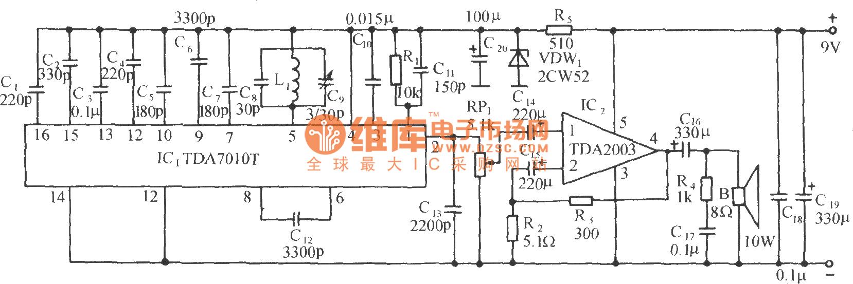 Livestock Guardrail Disconnection Alarm Wireless Fm Receiver Circuit Digitaltheremin Basiccircuit Diagram Seekiccom