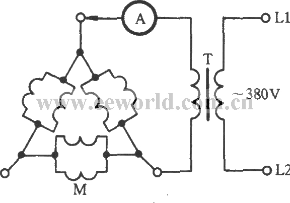 3 Phase Motor Winding Diagrams http://www.seekic.com/circuit_diagram/Measuring_and_Test_Circuit/Triangle_multidrop_parallel_connection_three_phase_motor_winding_short_circuit_detection_circuit.html