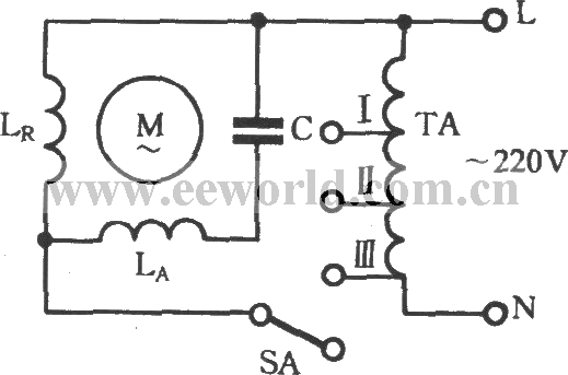 table fan motor winding connection