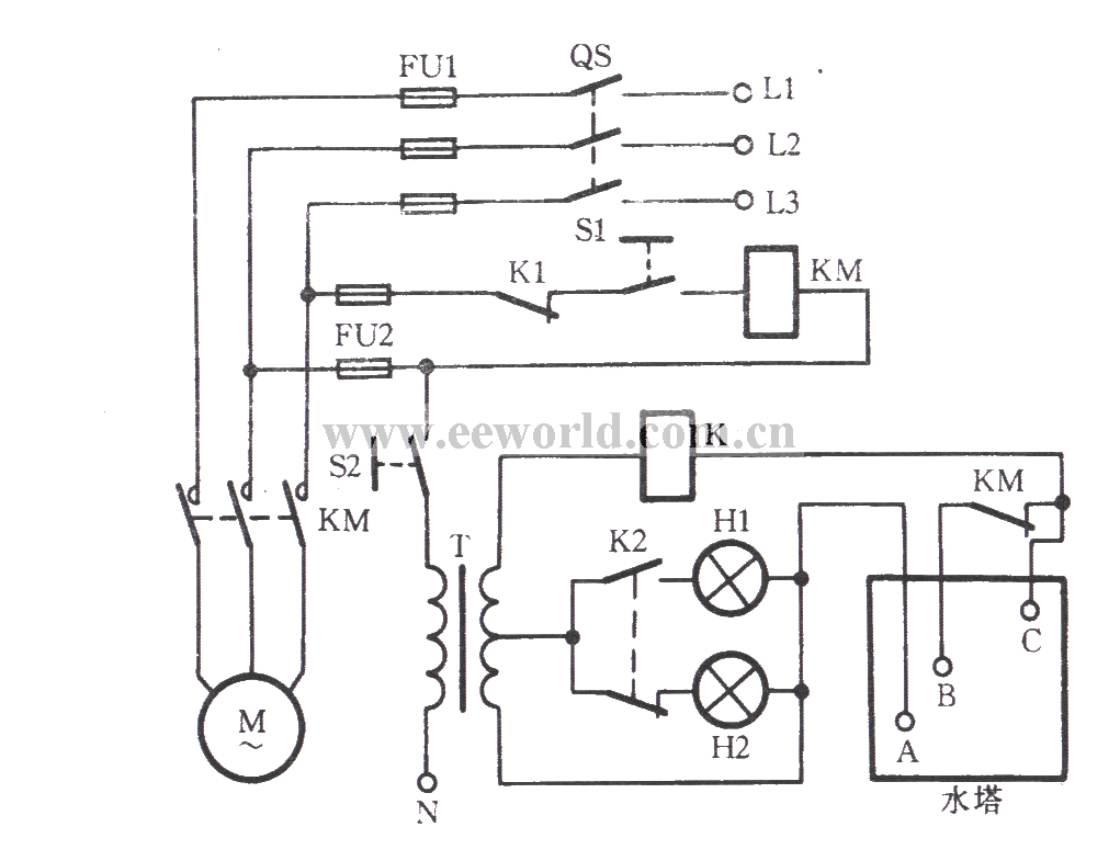 water level control circuit diagram  water  free engine