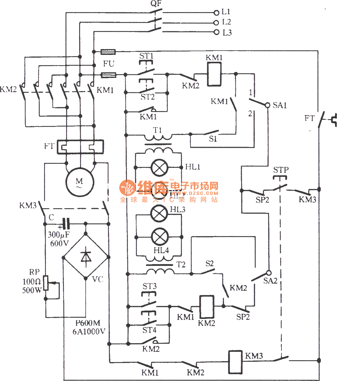 valve open and close control circuit