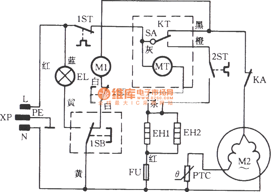 20119421267785 wanbao bcd148 frost free refrigerator circuit basic_circuit wiring diagram of frost free refrigerator at readyjetset.co