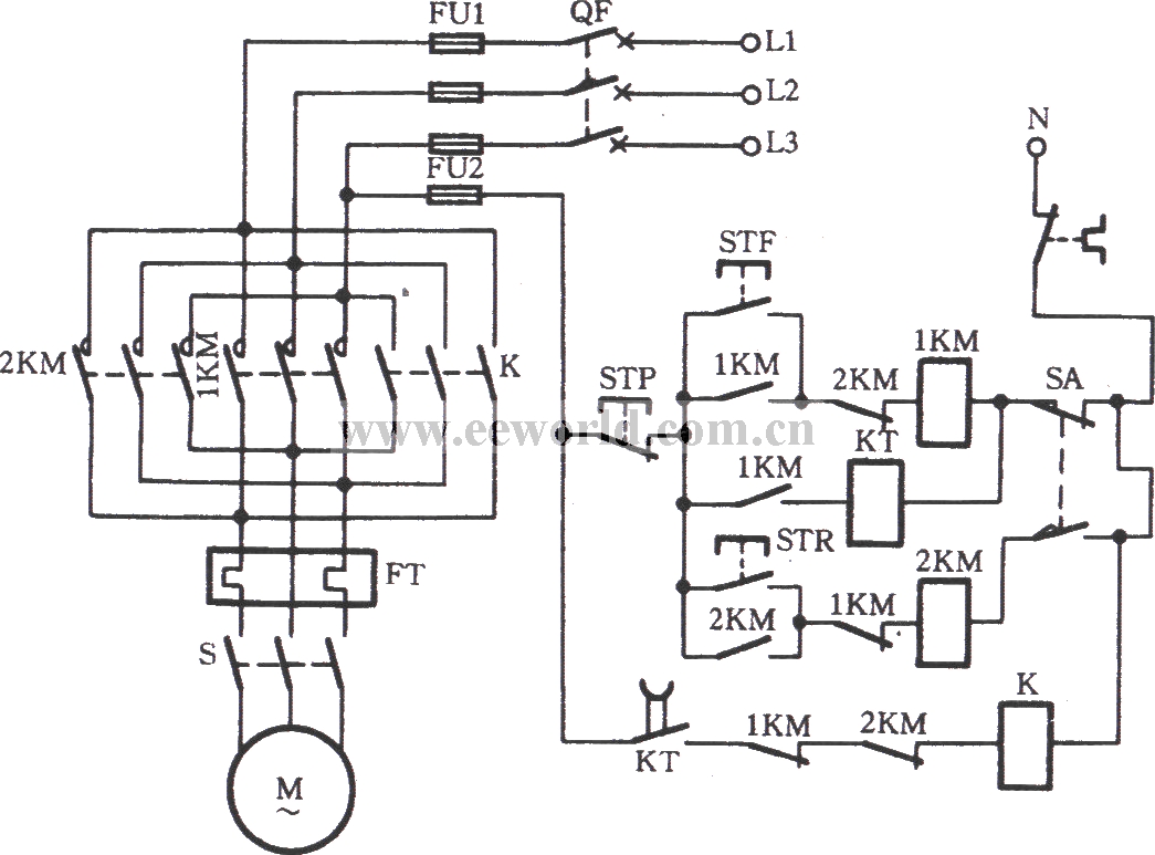 boiler coal conveyor circuit - basic circuit
