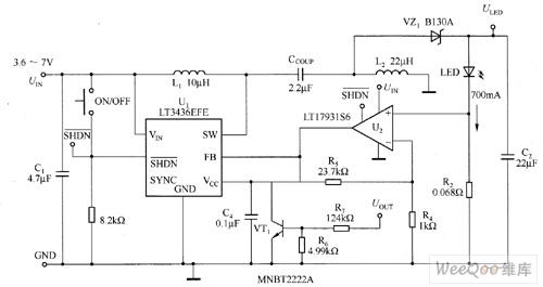 lt3436efe high power white led driver circuit diagram. Black Bedroom Furniture Sets. Home Design Ideas