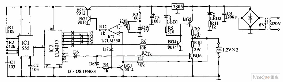 Pulse Express Charger Circuit Diagram