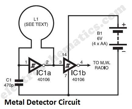 Index961 additionally Bfo Metal Detector in addition Metal Detector Circuits besides Metal Detector By Ic 4093 likewise Radar Detector Schematic. on bfo circuit diagram