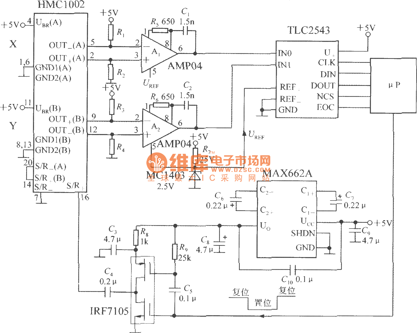 Magnetic Field Sensor Ic Circuit Page 13 Sensors Detectors Circuits Nextgr Electromagnetic Electronic Deborahs Journal 0314 The Application Of Dualaxis