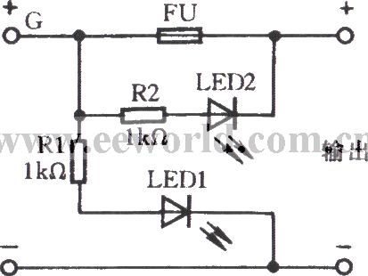 Stupendous Fuse Indicator Circuit With Light Emitting Diode Wiring Database Mangnorabwedabyuccorg