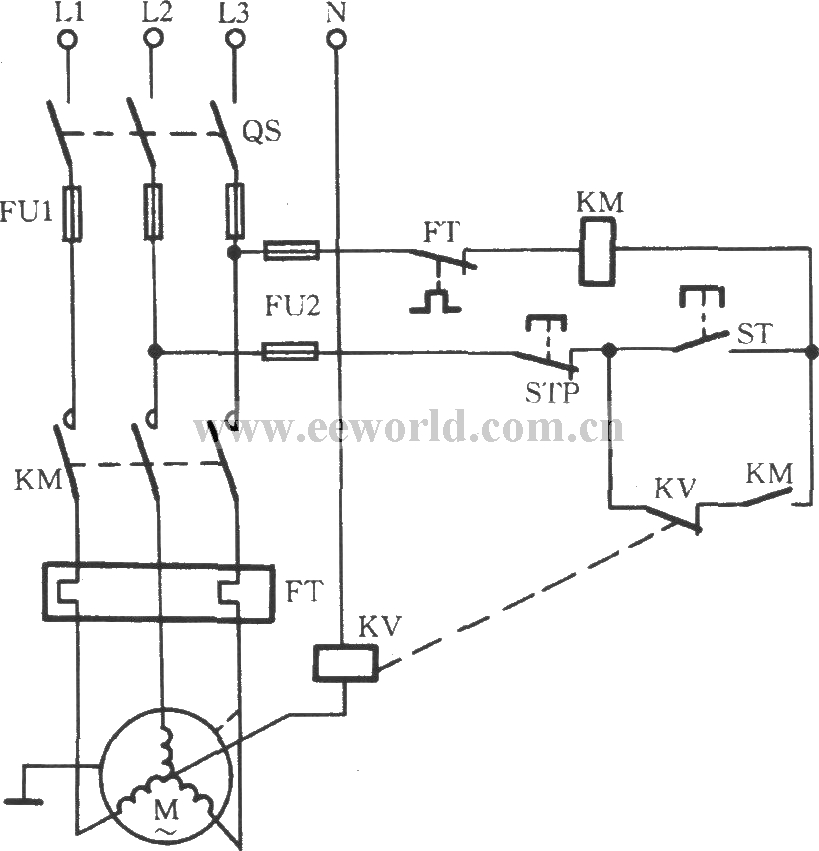 3 phase motor thermistor wiring diagram