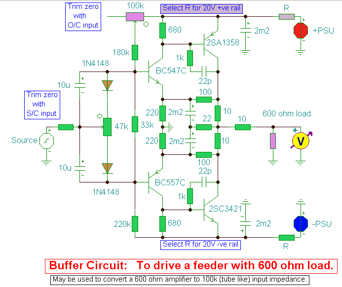 Buffer Amplifier Amplifiercircuit Circuit Diagram Seekic