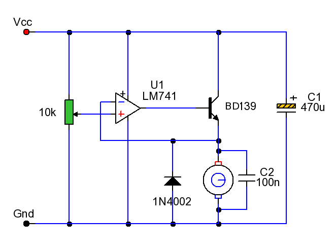 similiar transistor dc motor speed control keywords constant motor speed control control circuit circuit diagram