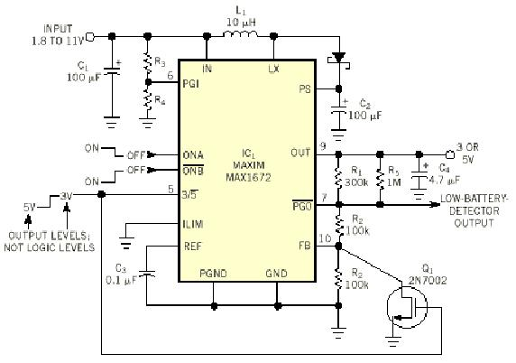 Dual Voltage Supply Powers Sim Card Electricalequipmentcircuit