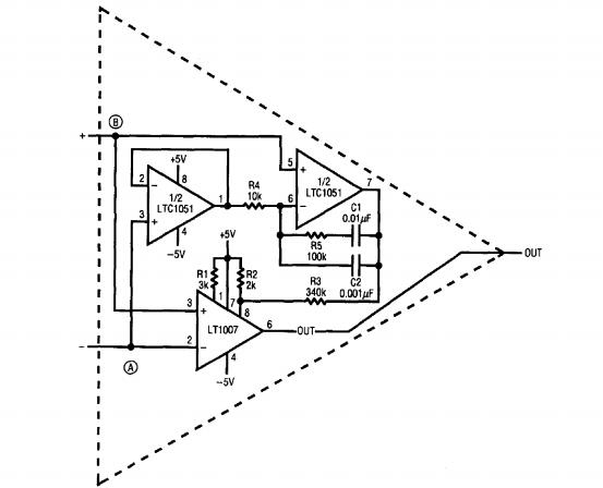ultra low noise op amp - amplifier circuit
