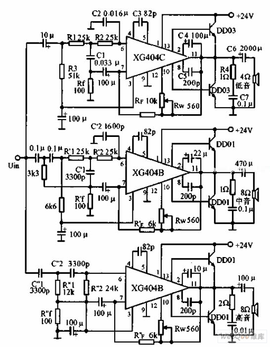 the new electronic fractional frequency power amplifier circuit diagram