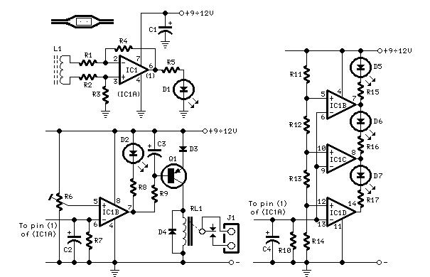 ac current monitor - control circuit