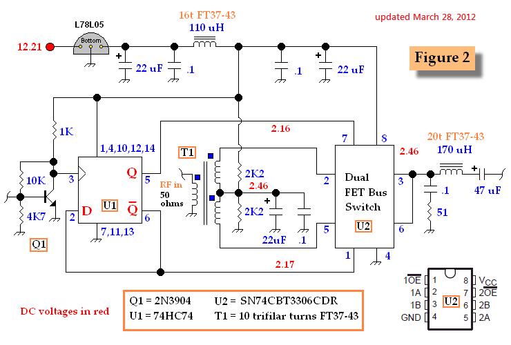 Rf Detector Measuringandtestcircuit Circuit Diagram Seekic