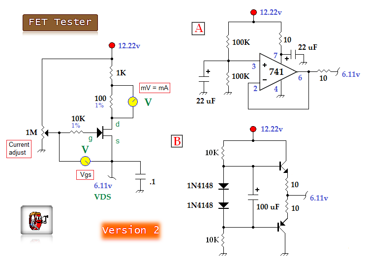 fet tester 2 measuring_and_test_circuit circuit diagram seekic comFet Tester Schematic Diagram #6