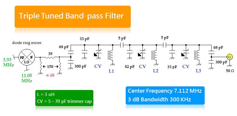 20m Bandpass Filter 3 Signalprocessing Circuit Diagram Seekic