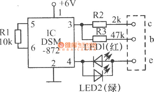the speed tester circuit for testing transistor quality - measuring and test circuit