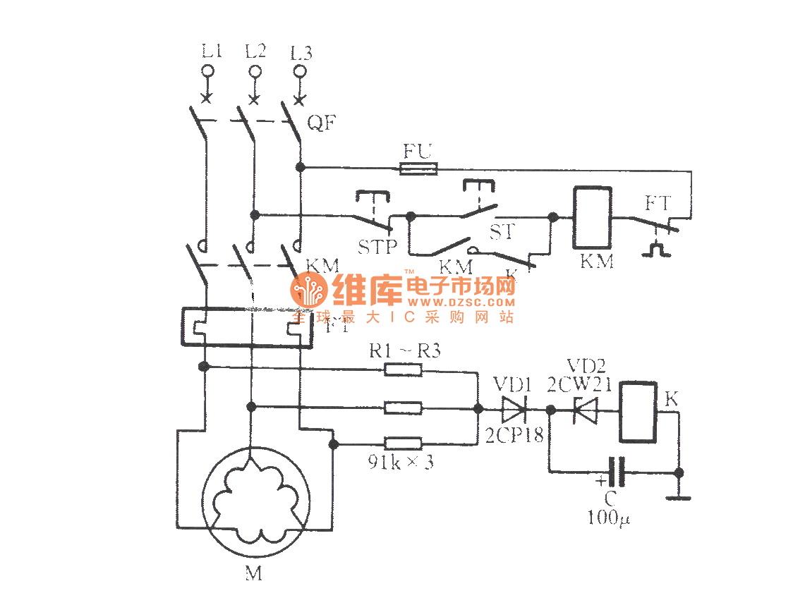 △ connection motor zero sequence voltage relay phase failureconnection motor zero sequence voltage relay phase failure protection circuit