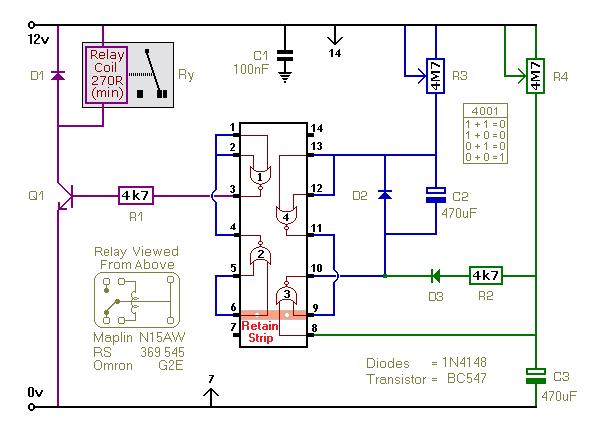 repeating timer no 7 circuit circuit diagram seekic