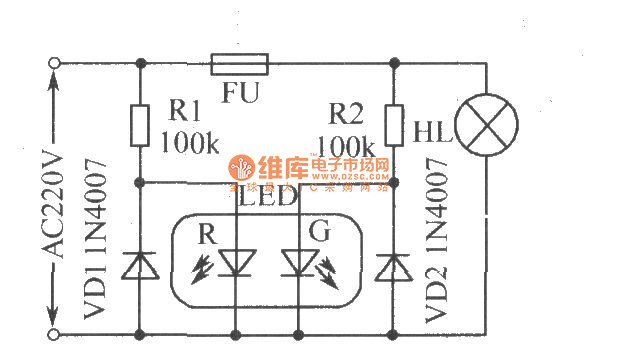 Astounding Blown Fuse Indicator Circuit Basic Circuit Circuit Diagram Wiring Database Mangnorabwedabyuccorg