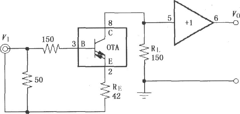 the caple amplifier circuit composed of opa660