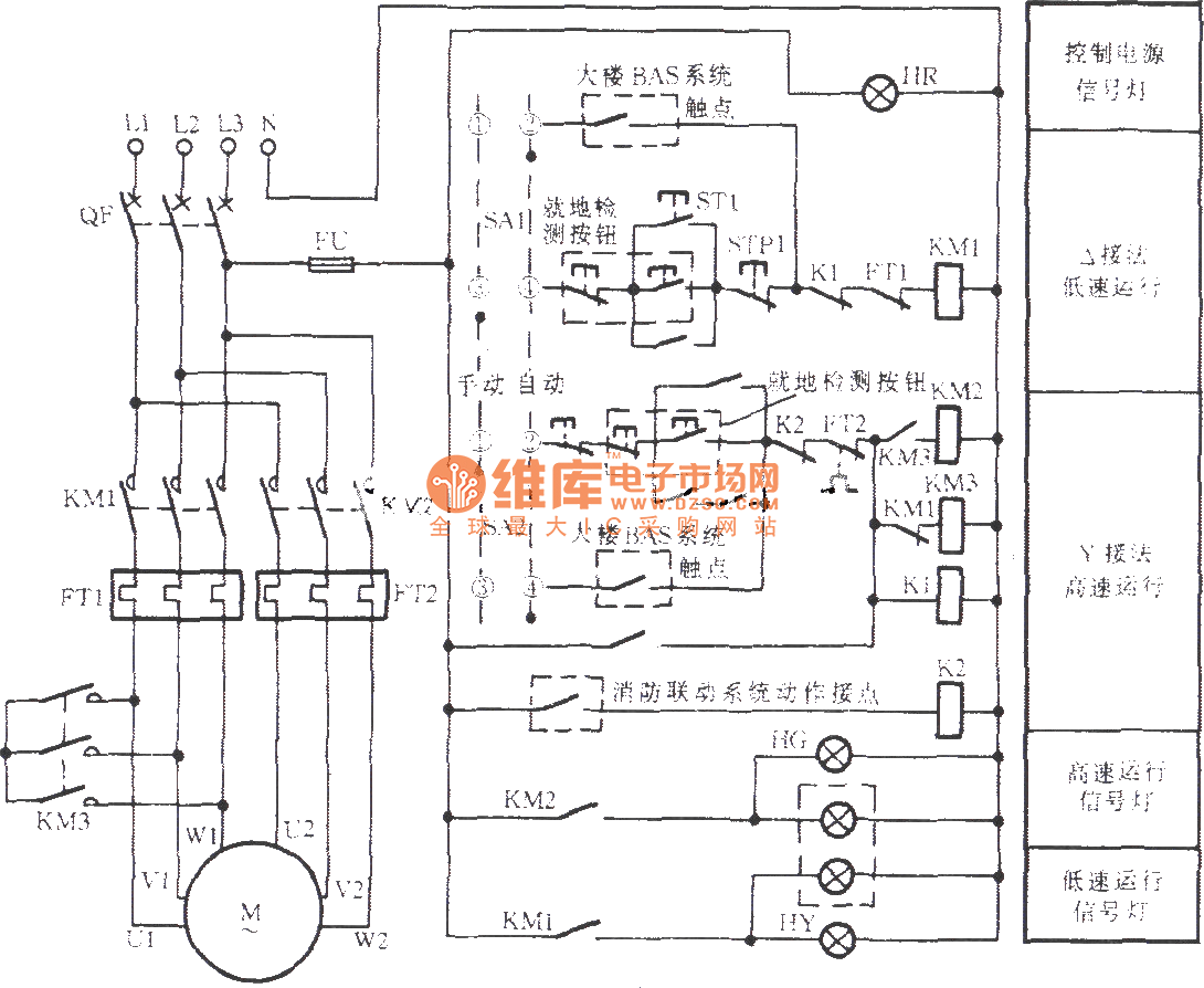 two speed motor wiring diagram 3 phase impremedia net two speed motor  starter wiring diagram Single Phase Motor Wiring Diagrams