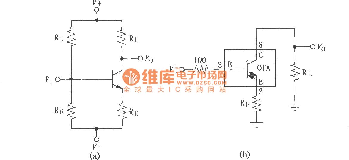 Amp Buffer Circuit Amplifiercircuit Circuit Diagram Seekiccom