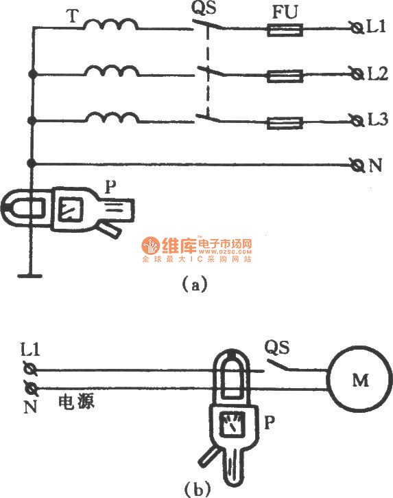 Leakage Ground Fault Point Measuring By Clamp Meter