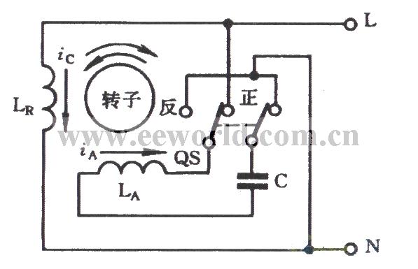 capacitor start single-phase motor