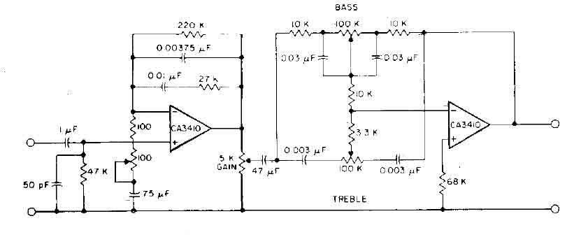 RF PREAMPLIFIER - ELECTRIC MX TL