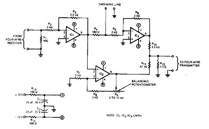 2 to 4 wire audio converter - a-d_d-a_converter_circuit ... trailer converter wiring schematic 4 wire #7