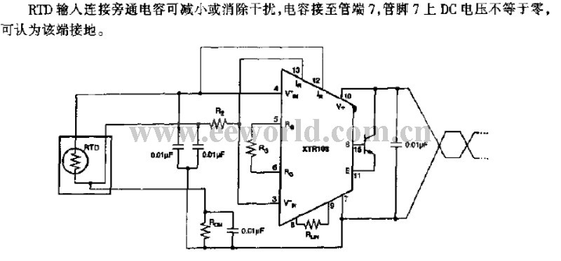temperature sensor transmitter circuit - temperature sensor - sensor circuit