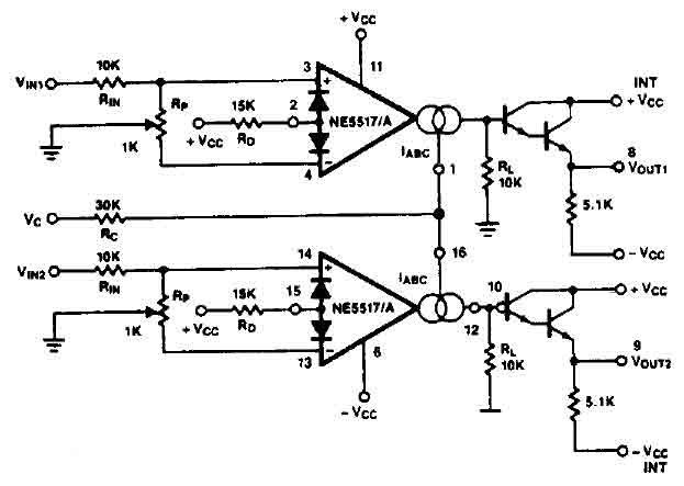 Y5r919 further Digital capacitance table circuit diagram  posed of ICL7107 as well Offset controlled stereo  lifier circuit additionally 0462 021 as well Hh4719. on electrical circuit diagram