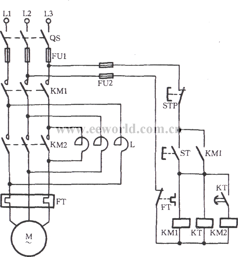 single pole switch wiring diagram with Automatic Series Reactance Starting Three Phase Motor 1 on How To Connect A Double Pole Double Throw Relay In A Circuit likewise Automatic series reactance starting three phase motor 1 likewise  additionally 7ffdl Wire Forward Reverse Furnasstyle A 14 Switch additionally Single Phase Variable Frequency Drive.