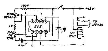 Dayton Timer Relay Wiring Diagram moreover Car Wiper Speed Controller in addition How To Wire A Relay moreover 555 Timer Circuit Internal Diagram moreover Simple Switch Time Delay Circuit Diagram. on off delay timer wiring diagram