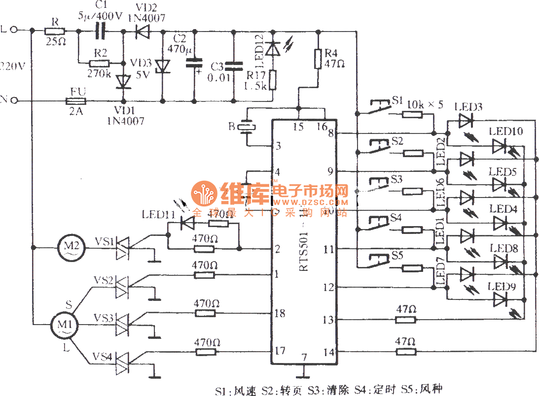 Gree Programmed Box Fan Circuit Control Diagram Basictriacswitches Controlcircuit Seekiccom