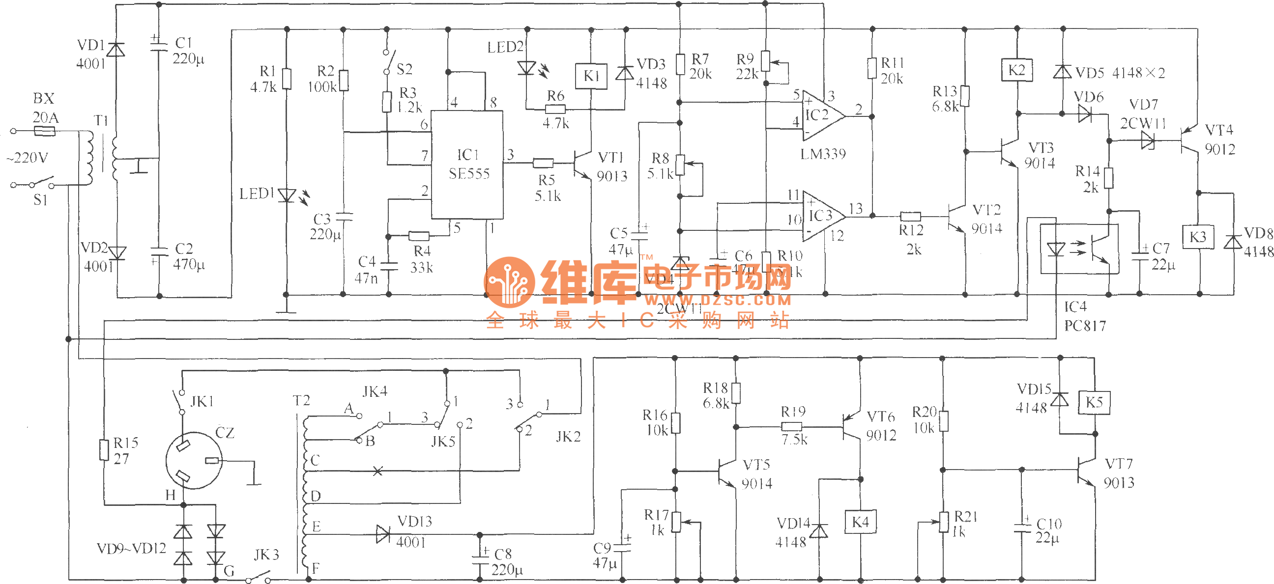 2500w Amplifier Circuit Diagram Wiring Diagrams Fet Driver Basiccircuit Seekic Power Saving Voltage Regulator Basic Audio