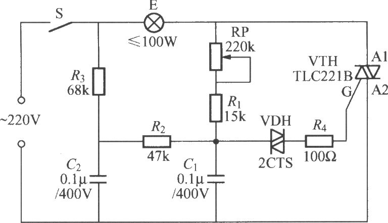 Light Dimmer Circuit Diagram http://www.seekic.com/circuit_diagram/LED_and_Light_Circuit/TRIAC_dimmer_light_circuit_with_dual_time_constant.html