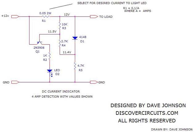 Dc Current Indicator 6 Basiccircuit Circuit Diagram Seekic