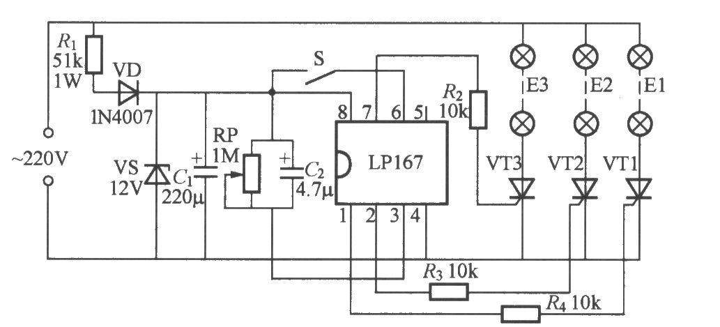 Strobe Light Circuit Related Keywords Suggestions Strobe Light
