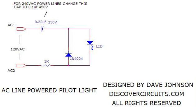 Simple Led Indicator Light