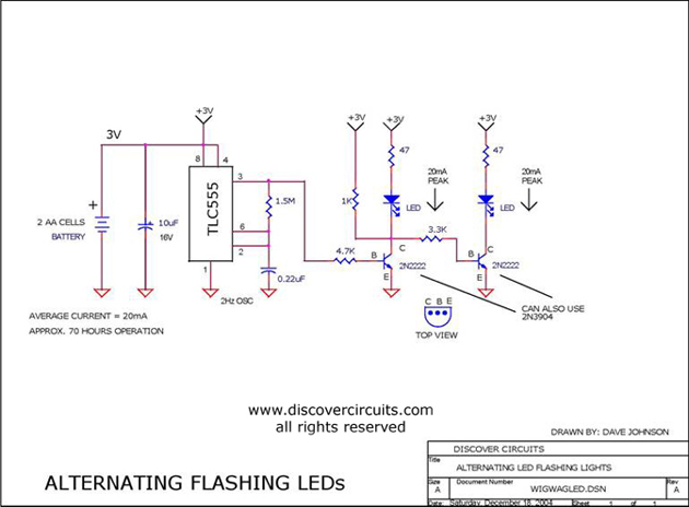 12v headlight relay wiring diagram wig/wag led flasher - led_and_light_circuit - circuit ... led 12v wig wag wiring diagram #11