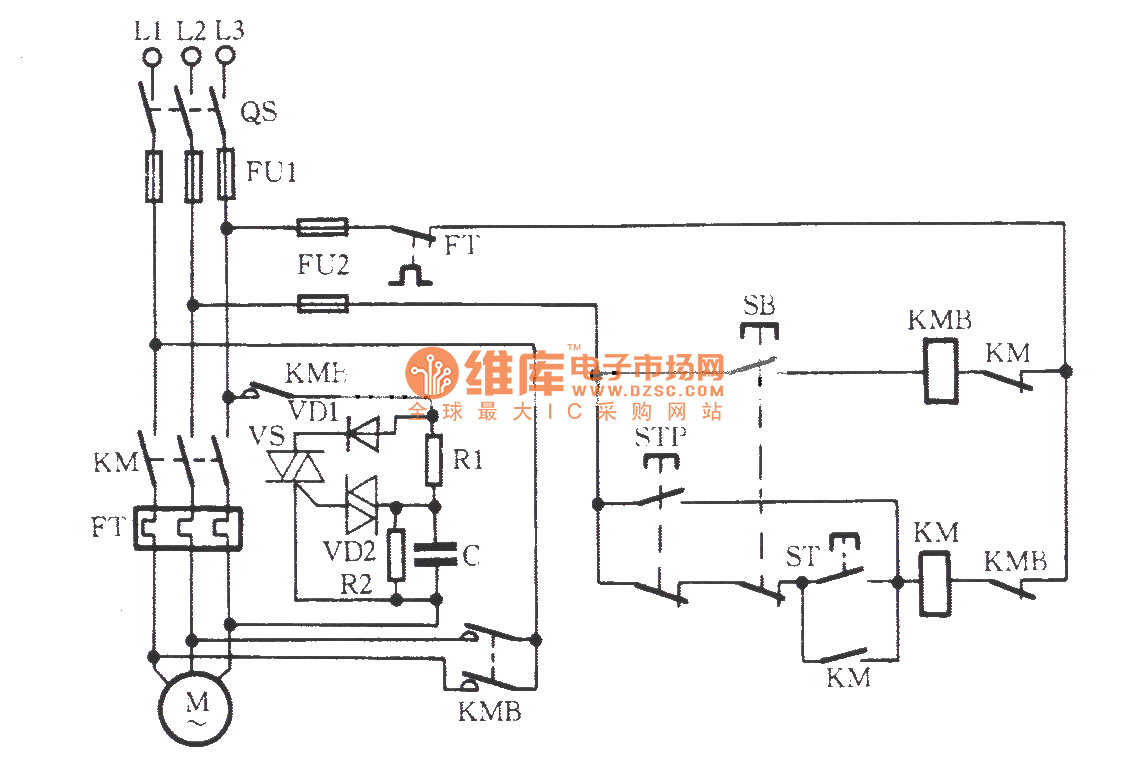 Bidirectional Thyristor Power Consumption Brake Circuit Compoundopampvcodriver Basiccircuit Diagram Seekic