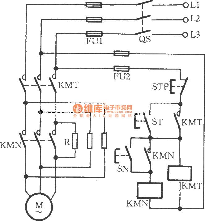 the manual series resistor to start three