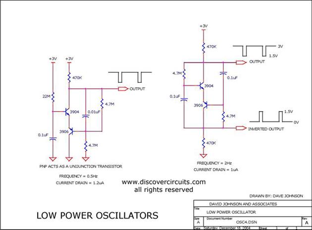 low power oscillators oscillator circuit signal processing circuit diagram. Black Bedroom Furniture Sets. Home Design Ideas