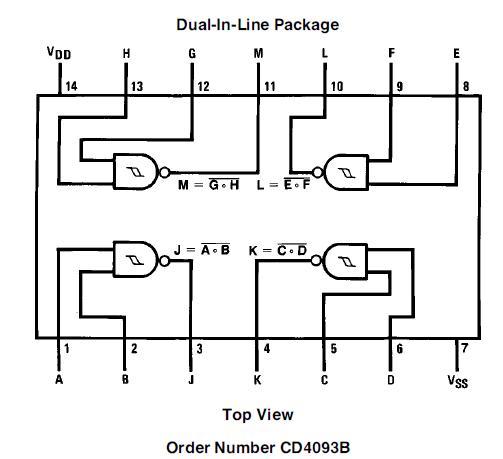 4011 ic circuit - basic circuit - circuit diagram